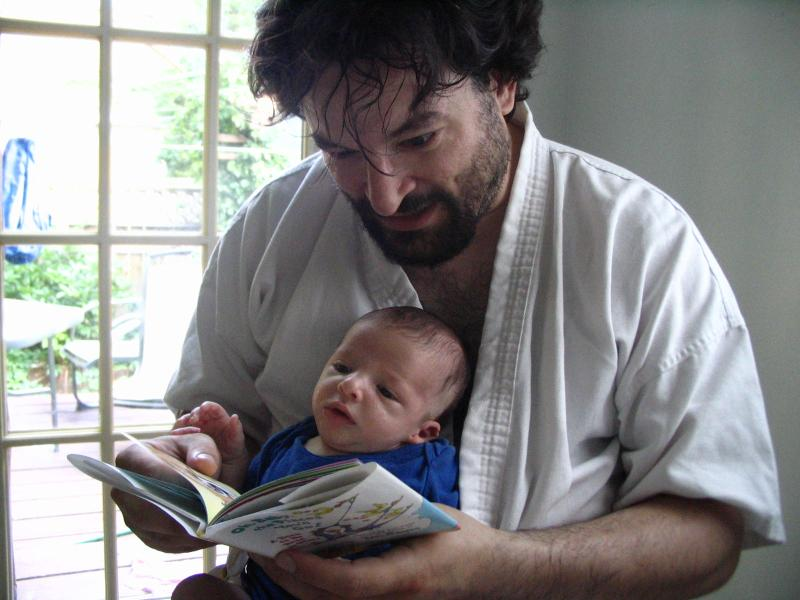 liam_reads_MrBrown_to_daddy